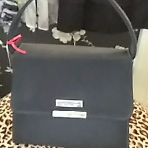Donna Karan Black Evening Bag